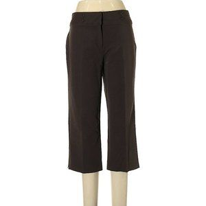 Dress Barn capri dress straight leg high rise 19